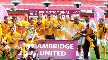 Cambridge United - 2014 Conference Play-Off winners