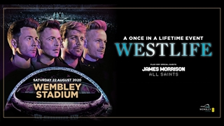 Westlife live at Wembley
