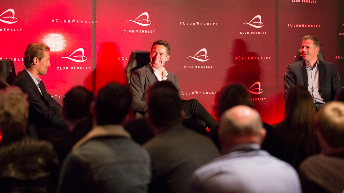 An evening with Jamie Carragher & Peter Crouch
