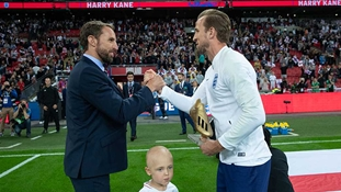 Gareth Southgate and Harry Kane recognised in the New Year honours list