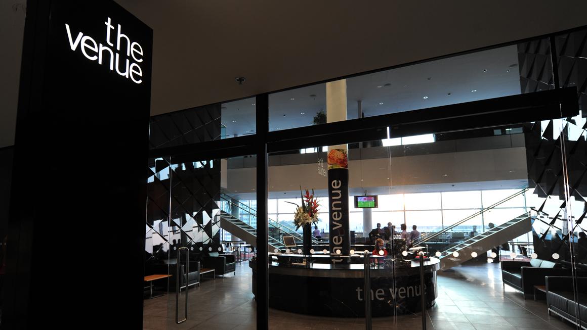 The Venue Restaurant entrance