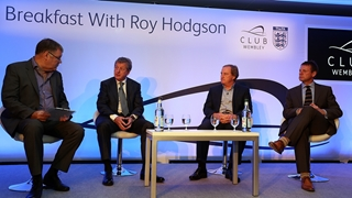 Breakfast with Roy Hodgson