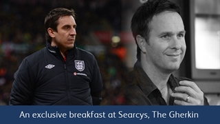 Gary Neville Breakfast - Club Wembley